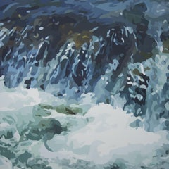Tide Pool, Painting, Oil on Canvas