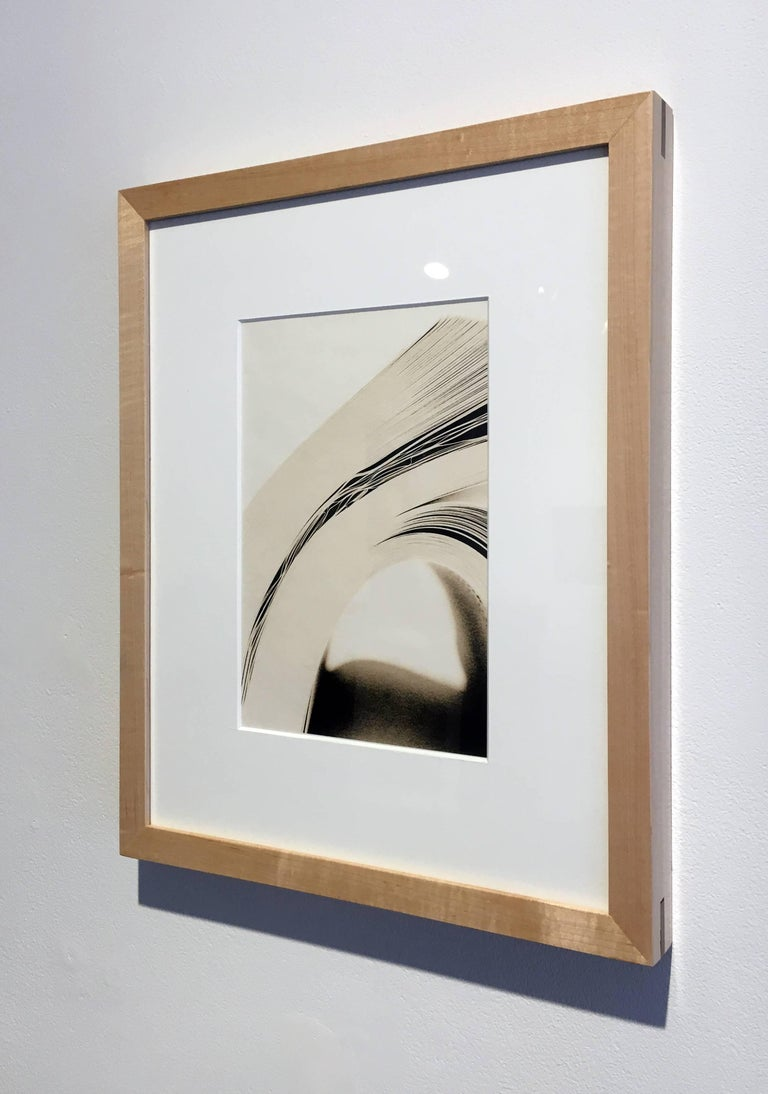 """Book 60"", Framed Lith Processed Silver Gelatin Print"