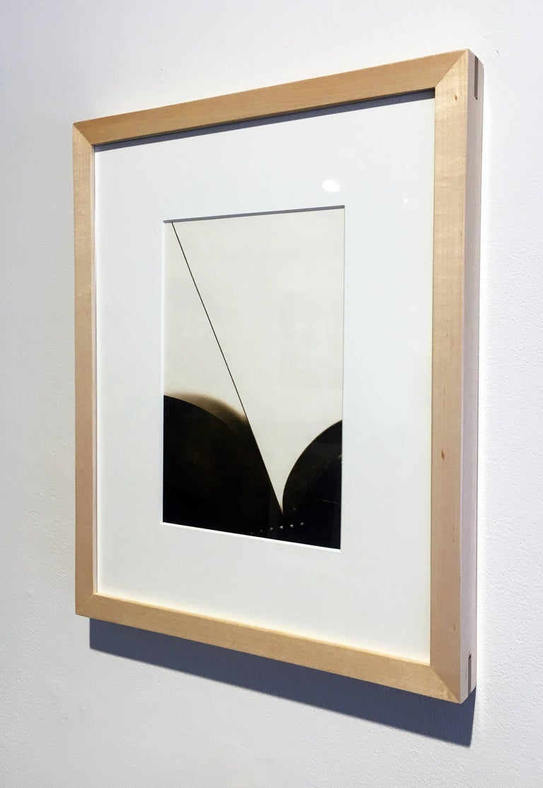 """Book 63"", Framed Lith Processed Silver Gelatin Print"