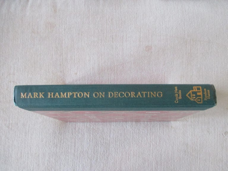 North American Mark Hampton on Decorating Hardcover Book For Sale