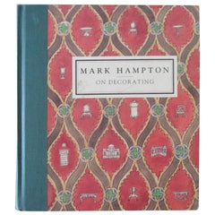 Mark Hampton on Decorating Hardcover Book