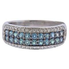 Mark Henry 0.83 Carat Alexandrite Diamond Gold Ring
