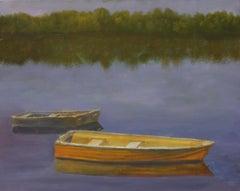 Cedar Lake, Painting, Oil on Canvas
