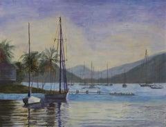 Twilight Calm, Painting, Oil on Canvas