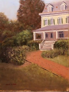 Walthers Home at Presby Gardens (Plein Air), Painting, Oil on MDF Panel