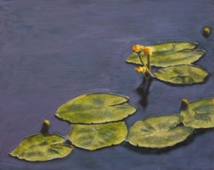 Water LIllies, Painting, Oil on Canvas