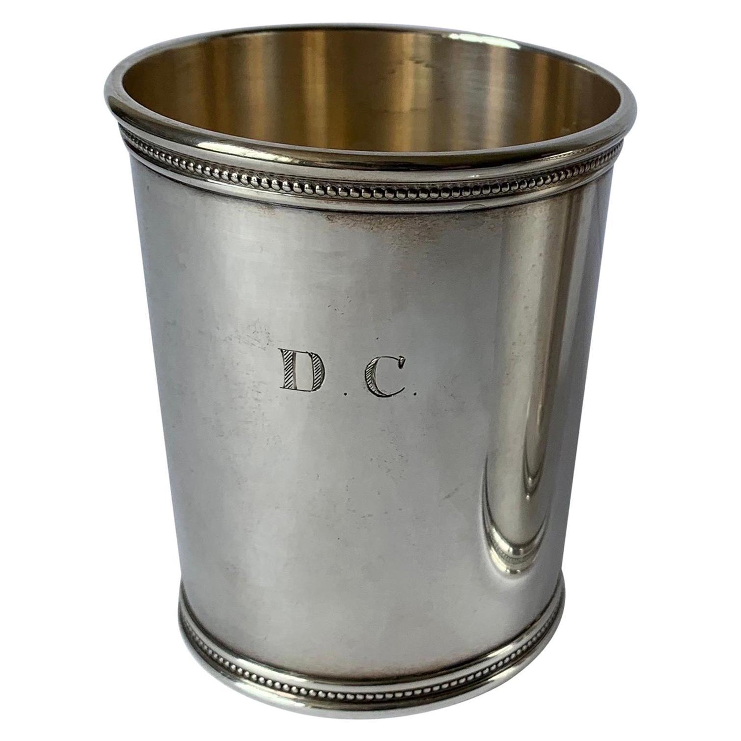 Mark J. Scearce LBJ Sterling Silver Julep Cup