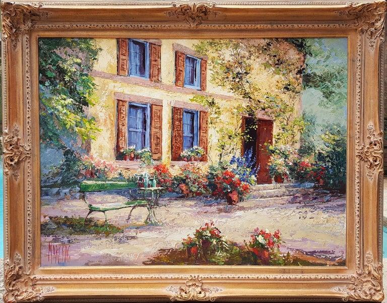 Cézanne's Studio (Atelier Cézanne) - Painting by Mark King