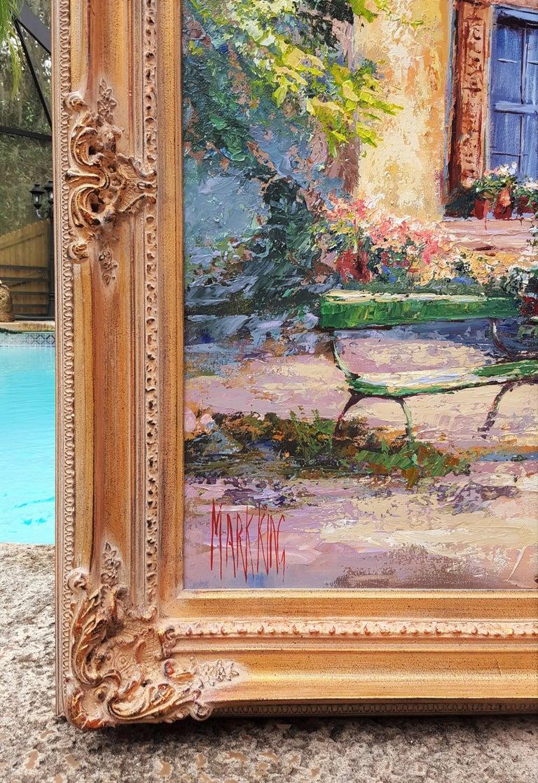 Cézanne's Studio (Atelier Cézanne) - Contemporary Painting by Mark King