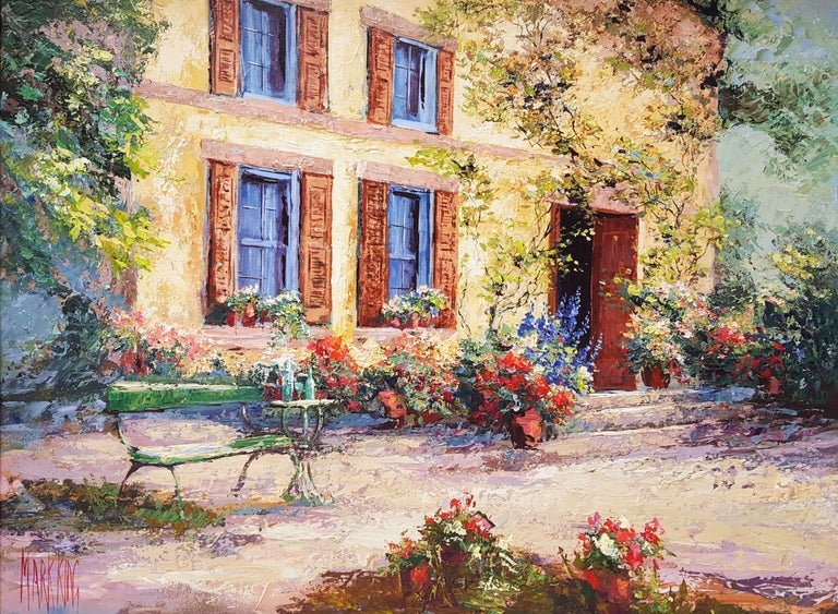 Mark King Landscape Painting - Cézanne's Studio (Atelier Cézanne)