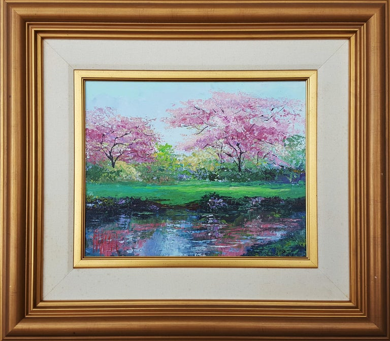 Plum Blossoms - Painting by Mark King