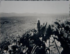 Self Portrait With Saguaro About My Same Age