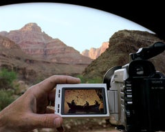 Reviewing the Day: Floating the Colorado River, Grand Canyon, 4/24/01