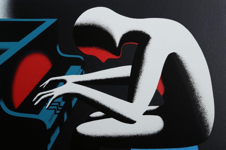 I Did it Steinway - Print by Mark Kostabi