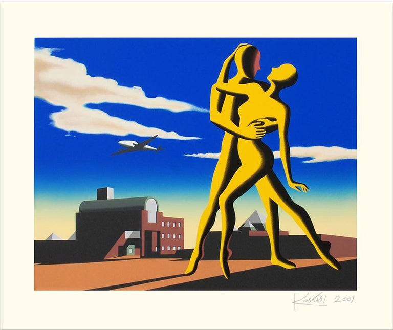 MARK KOSTABI  YESTERDAY'S HERE  SIGNED AND NUMBERED - Print by Mark Kostabi