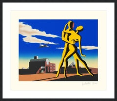 MARK KOSTABI  YESTERDAY'S HERE  SIGNED AND NUMBERED