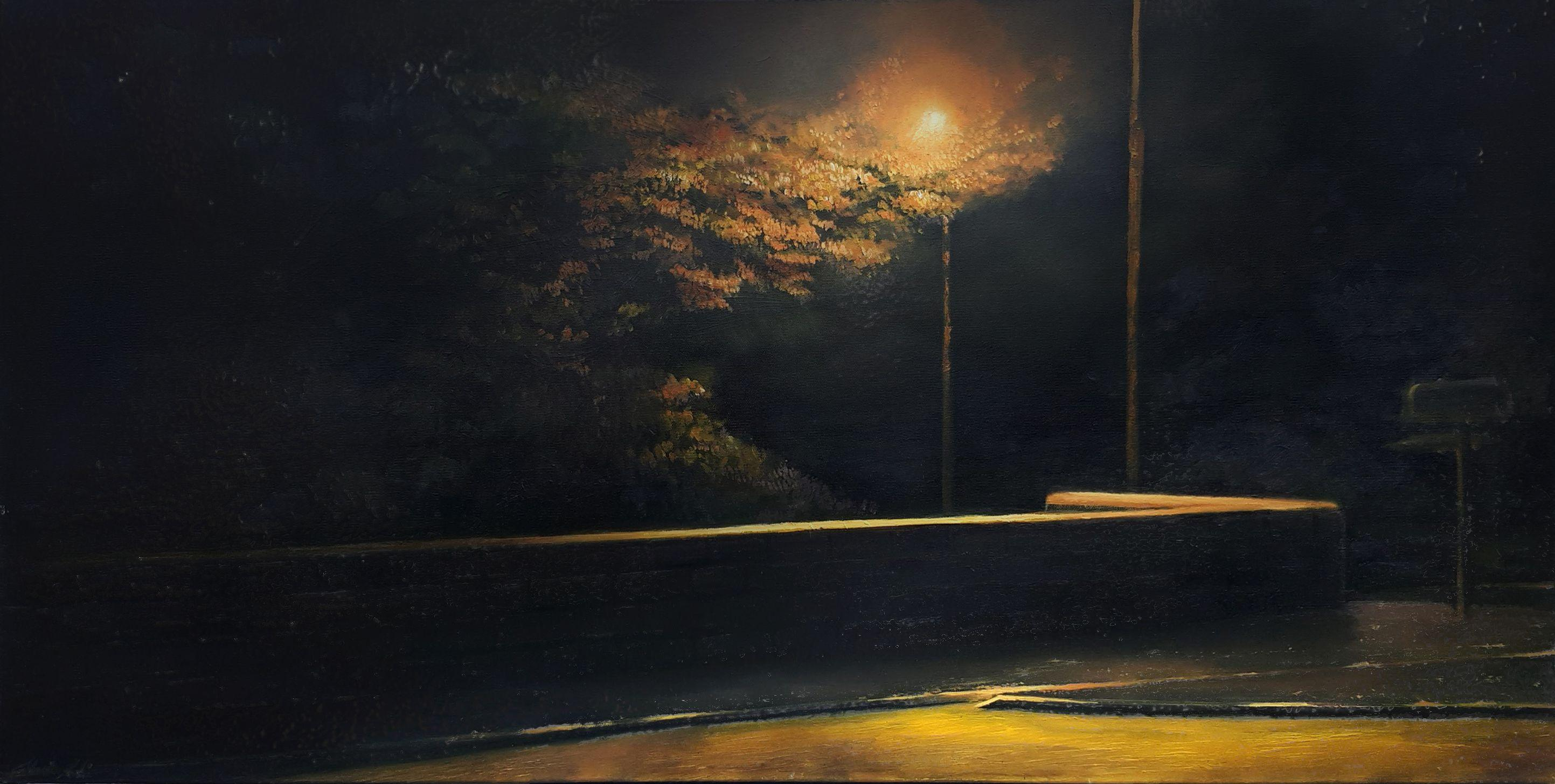 Blairforkie Drive, Painting, Oil on Canvas