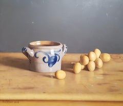 Realist Contemporary Still Life painting by Lijftogt 'Fresh Dates'