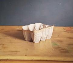 Realist Contemporary Still-Life painting 'Tusan Egg Carton' Mark Lijftogt