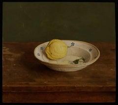 Still-Life Contemporary Painting by Mark Lijftogt 'Sicilian Lemon'