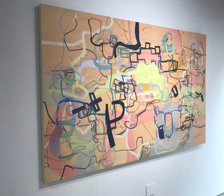 A History of the World in Six Easy Installments - Abstract Painting by Mark Masyga
