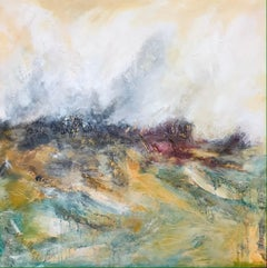 Lunan Bay East Angus Beaches - Contemporary Seascape Painting by Mark McCallum