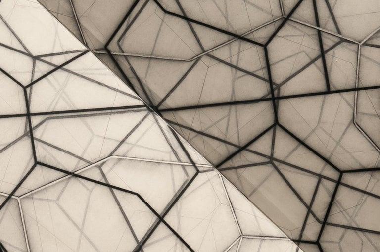 Bi-Fold IX - Abstract Geometric Sculpture by Mark Pomilio