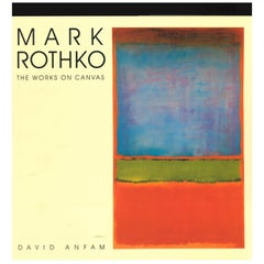 "MARK ROTHKO, The Works on Canvas ""book'"