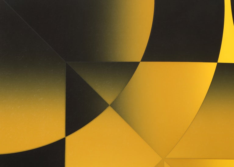 Gamut, Op Art Screenprint by Mark Rowland  For Sale 2