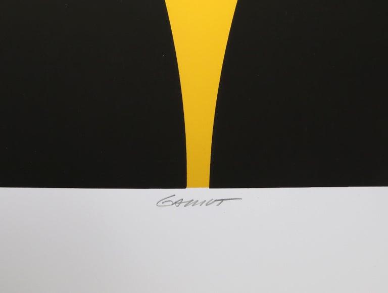 Gamut, Op Art Screenprint by Mark Rowland  For Sale 5