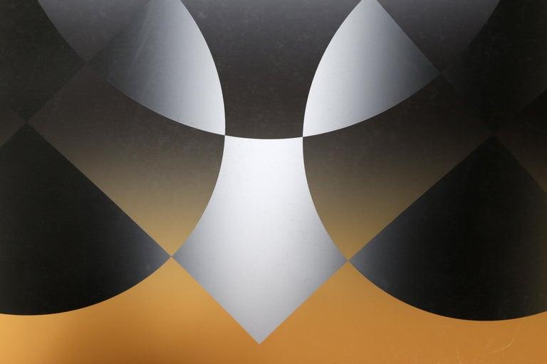 Motive, Op Art Screenprint by Mark Rowland  For Sale 1
