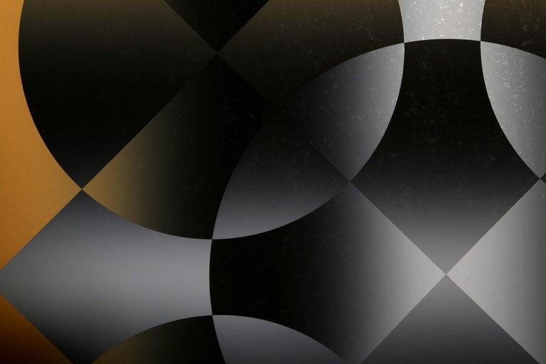 Motive, Op Art Screenprint by Mark Rowland  For Sale 2