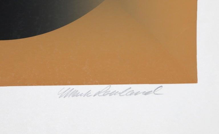 Motive, Op Art Screenprint by Mark Rowland  For Sale 4