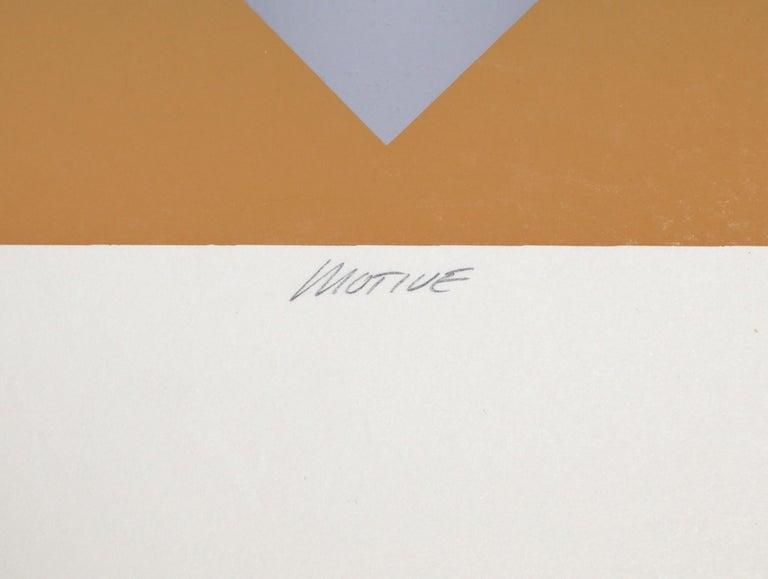 Motive, Op Art Screenprint by Mark Rowland  For Sale 5