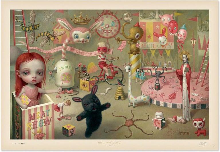 MARK RYDEN: The Magic Circus - Pop Surrealism, Lowbrow art, Americana 1