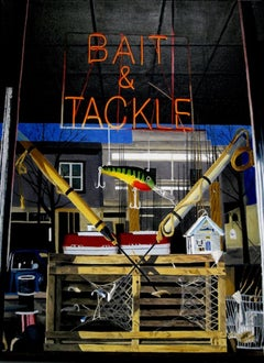 Bait and Tackle (Original Oil Painting)