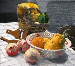 Gourds -- Original Oil Painting