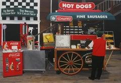 Hot Dogs On The Atlantic Boardwalk