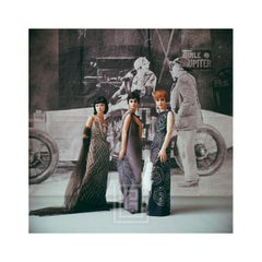 1920's Backdrop, Three Black Gowns, 1961