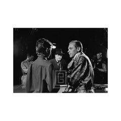 Audrey Hepburn and William Holden on Set of Sabrina, 1953