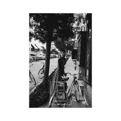 Audrey Hepburn Bicycle, Looks Left, 1953