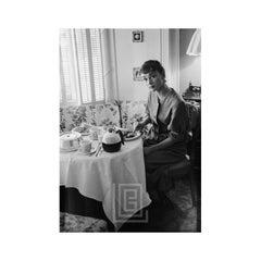 Audrey Hepburn Breakfast, Looking Up, 1953