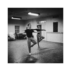 Audrey Hepburn in the Ballet Studio, 1953