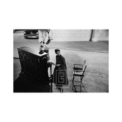 Audrey Hepburn on Set of Sabrina, Next to Piano, 1953