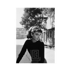 Audrey Hepburn Portrait on Set of Sabrina, 1953