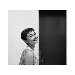 Audrey Hepburn Smiling, Left Frame, 1954