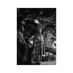 Audrey Hepburn Under Tree, Looks Back, 1953