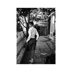 Audrey Hepburn Walking Away and Looking Back, 1953