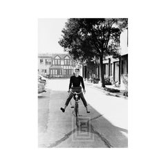 Audrey on Bicycle, 1953