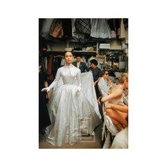 Backstage Balmain Bride, 1954